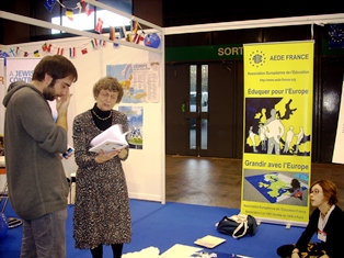 Aede france association europ enne de l 39 education for Salon europeen de l education porte de versailles